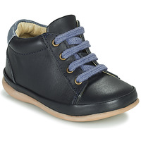 Shoes Girl High top trainers Little Mary GAMBARDE Blue