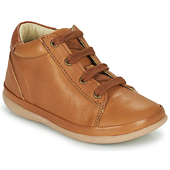 Shoes Children High top trainers Little Mary GAMBARDE Brown