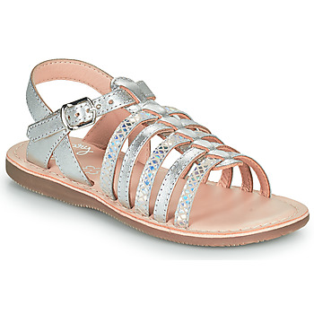 Shoes Girl Sandals Little Mary BARBADE Silver