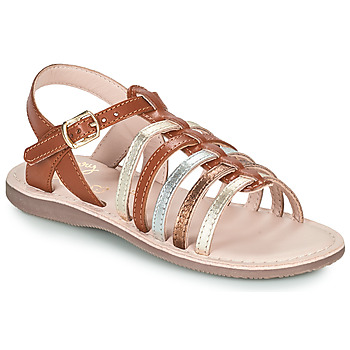 Shoes Girl Sandals Little Mary BARBADE Brown