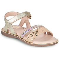 Shoes Girl Sandals Little Mary DOLERON Gold