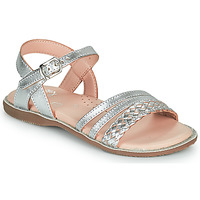 Shoes Girl Sandals Little Mary LIME Silver