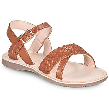 Shoes Girl Sandals Little Mary LIANE Brown