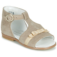 Shoes Girl Sandals Little Mary GAELLE Beige