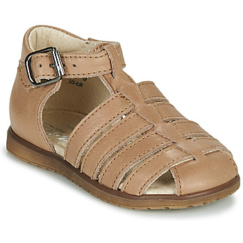 Shoes Children Sandals Little Mary LIXY Brown