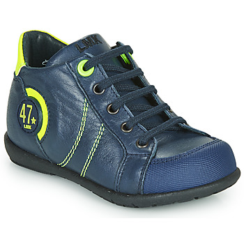 Shoes Boy Mid boots Little Mary FELIX Blue