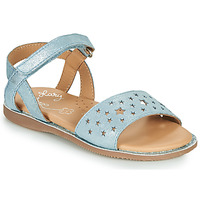Shoes Girl Sandals Little Mary LIO Blue