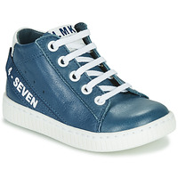Shoes Boy High top trainers Little Mary LUCKY Blue