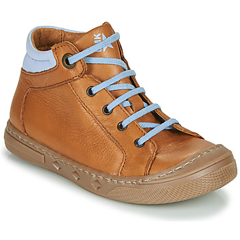 Shoes Boy High top trainers Little Mary JOEY Cognac