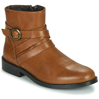 Shoes Girl Mid boots Little Mary TIMOTHY Cognac