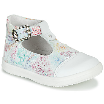 Shoes Girl Sandals Little Mary VALSEUSE White / Multicolour