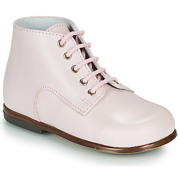 Shoes Children Mid boots Little Mary MILOTO Pink