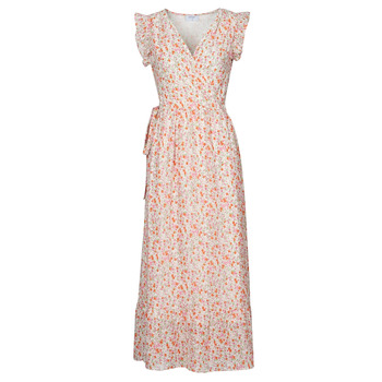 material Women Long Dresses Betty London OULANE Pink