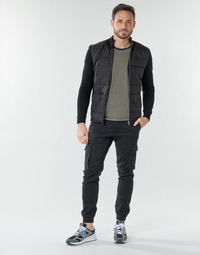 material Men Cargo trousers  Jack & Jones JJIPAUL Black