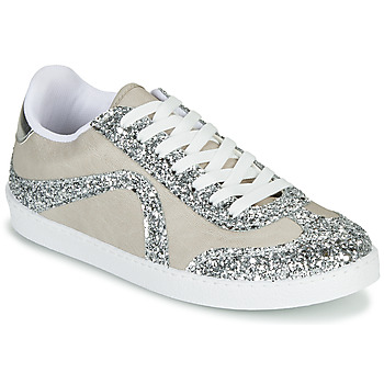 Shoes Women Low top trainers André CALLISTA Nude