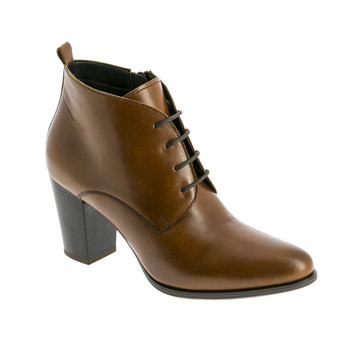 Shoes Women Mid boots André ROSARIO Cognac