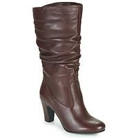 Shoes Women Boots André LALALY Bordeaux