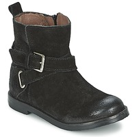 Shoes Girl Mid boots Aster NINON Black