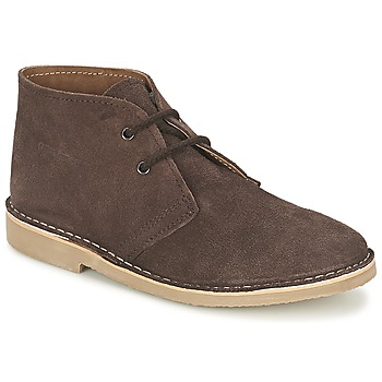 Shoes Men Mid boots Casual Attitude IXIFU Brown
