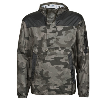 material Men Macs Columbia CHALLENGER WINDBREAKER Black / Grey