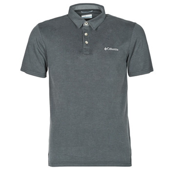 material Men short-sleeved polo shirts Columbia NELSON POINT POLO Grey