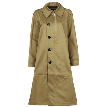 material Women Trench coats G-Star Raw TRENCH WMN Beige