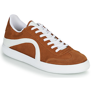 Shoes Men Low top trainers André POLO Brown