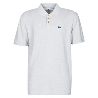 material Men short-sleeved polo shirts Quiksilver LOIA POLO Grey