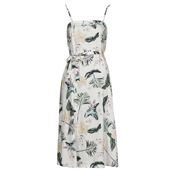 material Women Long Dresses Roxy NOWHERE TO HIDE White
