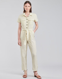 material Women Jumpsuits / Dungarees Roxy BEACH WONDERLAND White
