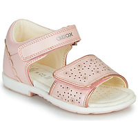 Shoes Boy Sandals Geox B VERRED Pink