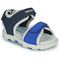 Shoes Boy Sandals Geox SANDAL PIANETA Blue