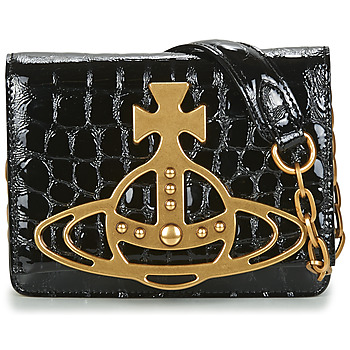 Bags Women Shoulder bags Vivienne Westwood ARCHIVE ORB CROSSBODY Black