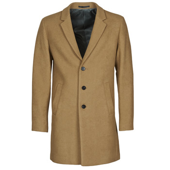 material Men coats Jack & Jones JJEMOULDER Camel