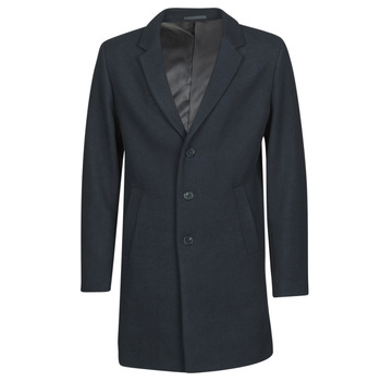 material Men coats Jack & Jones JJEMOULDER Marine