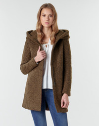 material Women coats Only ONLSEDONA Brown