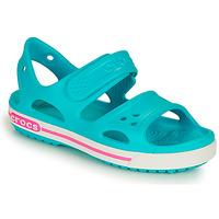 Shoes Children Sandals Crocs CROCBAND II SANDAL PS Blue / Pink