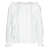 material Women Blouses Betty London NIAMAIM White