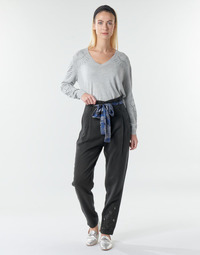material Women Wide leg / Harem trousers Desigual CHARLOTTE Black