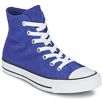 Shoes Women High top trainers Converse CHUCK TAYLOR ALL STAR KNIT Blue / King