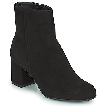 Shoes Women Mid boots André CADROE Black