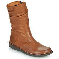 Shoes Women Mid boots Casual Attitude NIELOO Camel
