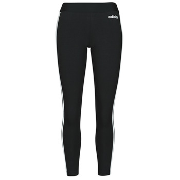 material Women leggings adidas Originals W E 3S TIGHT Black / White