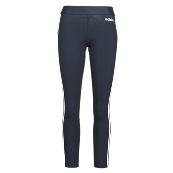 material Women leggings adidas Originals W E 3S TIGHT Encleg / White