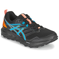 Shoes Men Running shoes Asics SONOMA 6 Black / Blue / Orange