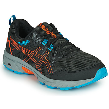 Shoes Men Running shoes Asics VENTURE 8 Black / Orange