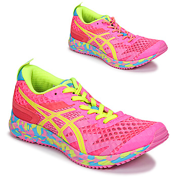 Shoes Women Running shoes Asics NOOSA TRI 12 Pink / Multicolour