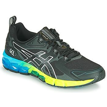 Shoes Men Low top trainers Asics QUANTUM 180 6 Black / Blue / Yellow