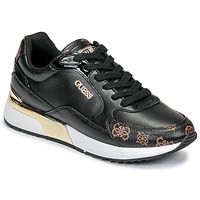 Shoes Women Low top trainers Guess MOXEA Black