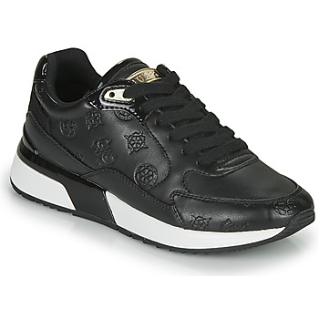 Shoes Women Low top trainers Guess MOXEA 2 Black